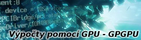 Výpočty pomocí GPU - GPGPU