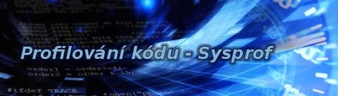 Profilování kódu - Sysprof