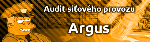 Audit síťového provozu pomocí nástroje Argus