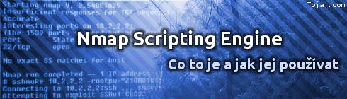 Nmap Scripting Engine - Co to je a jak ho použít